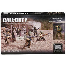 Mega Bloks 06862 WW2 Platoon Patrol Exlusive 5 Figuren Set Call of Duty