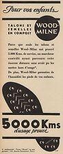 Y8688 Talons et Semelles WOOD-MILNE - Pubblicità d'epoca - 1936 Old advertising
