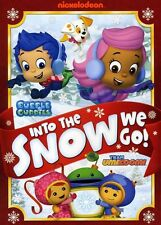 Bubble Guppies/Team Umizoomi: Into the Snow We Go (2013, REGION 1 DVD New)