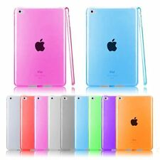 Transparent Clear TPU Gel Silicone Protect Cases Covers Shell For iPad Mini 123