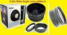 0.43x Wide Angle LENS 67mm TO FUJI S100FS S200 EXR, SONY R1, PANASONIC L10 L1