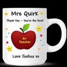 Meilleur Professeur Personnalisé Tasse Cup-Merci Professeur Cadeau Anniversaire-de06