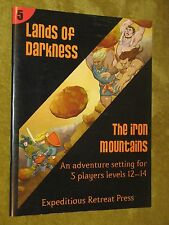 Lands of Darkness #5 The Iron Mountains 4E D&D module 4th Dungeons & Dragons rpg