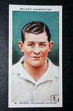 Tottenham Hotspur Evans Vintage 1930's Footballer Card # VGC