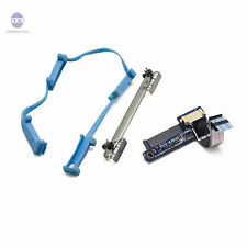 HP Elite Book 2530P Hard drive HDD kit Connector+Rubber Rails+Caddy bracket KIT