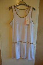 bnwt Women's Ellesse Orelia Robel Blanc white tennis dress size L