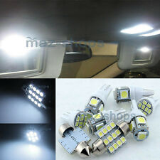 Pure White Interior LED Light Package 6PCS 12V Kit Fit 07-11 Honda CRV CR-V