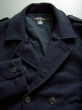 All Saints St. Roch Jacket Men's 38 Medium Blue Pea Coat A/W07 Vintage ALS252