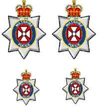 * 4 X  WILTSHIRE POLICE WATERSLIDE DECAL IDEAL FOR CODE 3 MODELS
