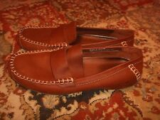Timberland Smart Comfort Brown Leather Loafer Driving Mocs Womens Size 8.5M
