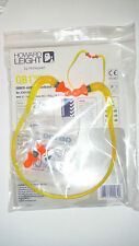Howard Leight by Honeywell Banded Multi-Use Earplugs, Yellow Band/Orange Plug