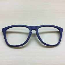 Replacement FRONT FRAME For Oakley Frogkins Sunglasses Matte Blue 24-345 NO ARMS