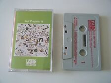 LED ZEPPELIN 3 III CASSETTE TAPE ATLANTIC 1972