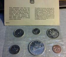 Canada 1965 Proof-Like Set - Royal Canadian Mint Silver Dollar, 1/2, 1/4 10c