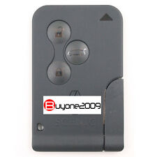 New Smart Card Remote Key 3 Button 433MHZ ID46 for Renault Scenic 2001-2008