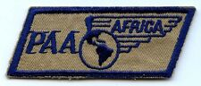 1940's Pan Am Airways (PAA) Africa Ferry Pilot Uniform Pocket Patch in Dark Blue