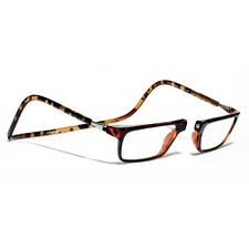 CliC +2.5 Diopter Magnetic Reading Glasses: Executive, Tortoise, Specs, Cheaters