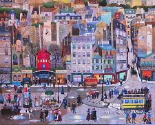 .PUZZLE..JIGSAW..BIG BEN..AMBIELLE..Downtown...1500pc..
