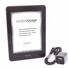 "Amazon Kindle Voyage E-reader, 6"" Wi-Fi, Black, Scratch & Dent, 1-1A"