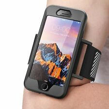 SUPCASE iPhone 7 4.7 Easy Fitting Sport Running Armband Case, Black 2DAYSHIP sw