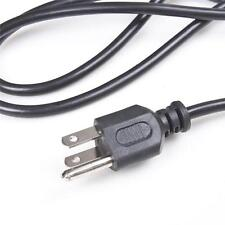 US 3Prong 2Pin 1-round-pin AC Power Cord Cable Charge Adapter For PC Laptop J