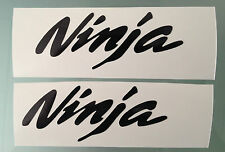 NINJA Fairing Decals / Stickers (PAIR) (ANY COLOUR)