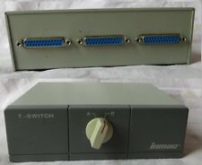 Data Transfer Switch inmac T-Switch  Umschalter Vintage PC