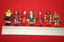MARVEL MINIMATES THE THING, MAGNETO, CYCLOPS, JUGGERNAUT, JEAN GREY & WOLVERINE