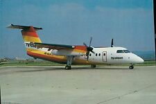 A9021mdt Transport Tyrolean Airlines Dash 8 Aircraft postcard