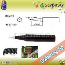 High Quality Soldering Iron Tips Real Lead Free 900M-T-I Black