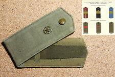 Epaulettes  Armée Soviétique URSS, fantassin  pour guimnastiorka n.4