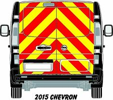 Vauxhal Vivaro/Traffic Van 2015 Reflective/ Chapter 8 Full Chevron kit graphics