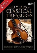 700 Years of Classical Treasures : The Complete History of Classical Music... T…
