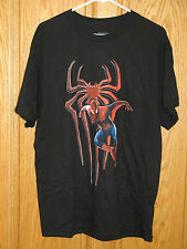 SPIDERMAN THE AMAZING SPIDER-MAN 2 MOVIE T-Shirt Tee Shirt - L Large 42/44 Black