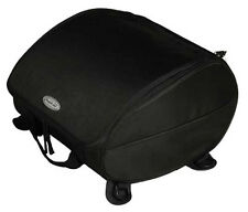 Motorcycle Scooter TAIL BAG PACK Fasttrax with Sewn in Rain Hood BLACK NEW