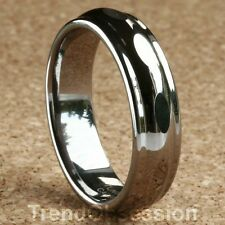 Tungsten Carbide Ring Mens Wedding Band Size 9