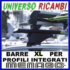 Barre Portatutto Menabo TIGER BLACK 135 BMW X5 (F15) 2013   Profili Integrati