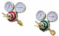 2 Piece Set Oxygen & Acetylene Regulator Harris Type Large Tank