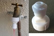 """3/4"""" Garden / Laundry hose bib adapter connect to 1/4 """" RO tube"""