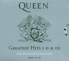 QUEEN The Platinum Collection: Greatest Hits I, II & III Box set CD New Sealed