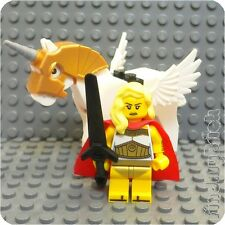 M503 Lego Goddess Athena God She Ra Swift Wind Custom Minifigure & Horse NEW