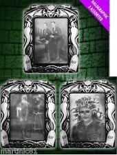 1x HOLOGRAPHIC PICTURES HALLOWEEN IN PICTURE FRAMES PHOTOS SCENE SETTERS SCARE