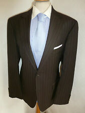 MENS HUGO BOSS PASOLINI SUPER 130 WOOL AUTUMN SUIT JACKET 40 WAIST 34 LEG 33