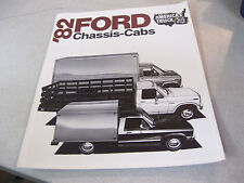1982 FORD Chassis Cab Truck Brochure with Specifications