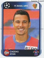 N°313 CAGDAS ATAN # TURKEY FC.BASEL UEFA CHAMPIONS LEAGUE 2011 STICKER PANINI