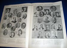 1899 Leaders in the Independent Telephone Movement Wall Poster Photographs