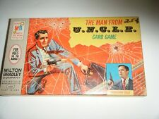 Vintage Man from UNCLE Napoleon Solo Card Game  Fine Robert Vaughn