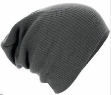 1PC Smoke Grey Oversized Slouch Beanie Hot Mens Ladies Hat Cap Knitted Winter