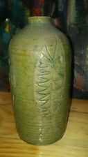 Rare Abstract Brutalist Mid-Century Danish Modern Studio Art Pottery Vase Nelson
