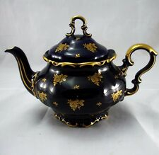 Rare Lindner Echt Cobalt Kobalt Tea Pot Teapot Bavaria Germany